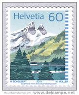 Switzerland 2015 Lac De Tanay Jummeles Mountain Lake MNH ** (reprint) - Svizzera
