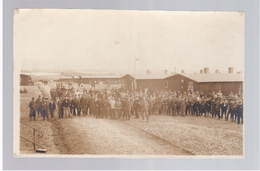 Ohrdruf Kriegsgefangenenlager, Französen, Camp Des Prisonniers Ca 1916 OLD PHOTOPOSTCARD 2 Scans - War 1914-18