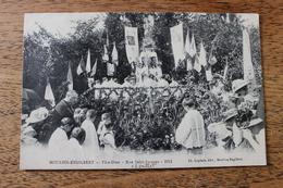 MOULINS ENGILBERT (58) - FETE DIEU - RUE SAINT JACQUES 1911 - Moulin Engilbert