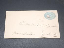 GUATEMALA - Entier Postal Circulé En 1892 - L 20521 - Guatemala
