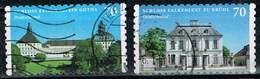 Bund 2018, Michel# 3388 - 3389 O Schloss Falkenlust/ Schloss Friedenstein Selbstklebend - [7] Repubblica Federale