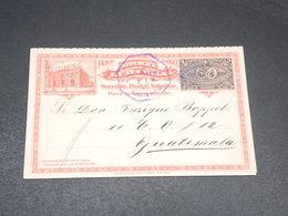 GUATEMALA - Entier Postal + Réponse Voyagé En 1897 - L 20522 - Guatemala