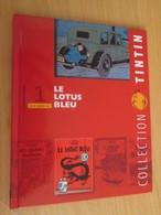 TIN718 BD Cartonné Petit Format A5 , TINTIN HERGE LE LOTUS BLEU , 2010 Env 16 Page Sur La Réalisation Du DVD - Hergé