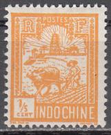 INDO CHINA     SCOTT NO.  116     MINT HINGED     YEAR 1927 - Nuevos