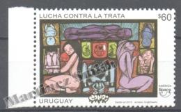 Uruguay 2015 Yvert 2772, America UPAEP, Fight Against Women Slavery - MNH - Uruguay