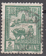 INDO CHINA     SCOTT NO.  120    USED     YEAR 1927 - Usados
