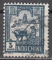 INDO CHINA     SCOTT NO.  121    USED     YEAR 1927 - Usados
