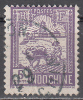 INDO CHINA     SCOTT NO.  123    USED     YEAR 1927 - Usados