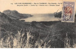 TAHITI : Les Marquises Baie De Taiohae Vue Generale Ile Nukabiva - Tres Bon Etat - Polynésie Française