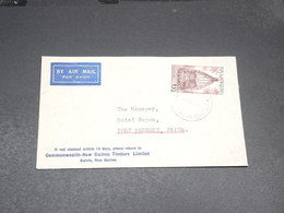 PAPOUASIE NOUVELLE GUINÉE - Enveloppe De Bulolo Pour Port Moresby En 1954 - L 20539 - Papouasie-Nouvelle-Guinée