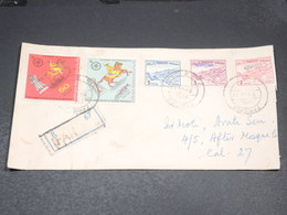 PAKISTAN - Enveloppe En Recommandé De Benghasi En 1972 - L 20541 - Pakistan