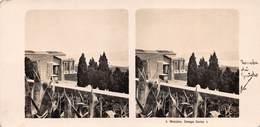 """0033 """" MESSINA - CAMPO SANTO """" CART. STEREOSCOPICA ORIG. - Messina"""