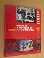 TIN718 BD Cartonné Petit Format A5 , TINTIN MYSTERE DE LA TOISON D'OR LE FILM   2010 Env 16 Page Sur La Réalisa - Hergé
