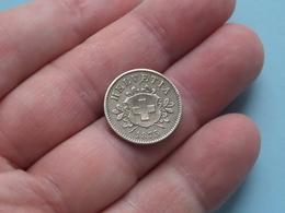 1873 - 10 Rappen ( KM 6 ) Uncleaned ! - Suisse