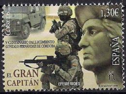 2016 Spanien Mi. 5036 **MNH 500. Todestag Von Gonzalo Fernández De Córdoba - 2011-... Neufs