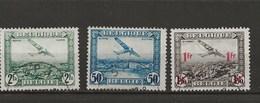 3 Timbres - Poste Aérienne