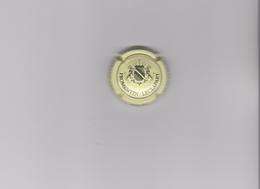 """CAPSULE DE CHAMPAGNE """"FROMENTIN-LECLAPART"""" Crème & Noir - Grandes Lettres - Champagne"""