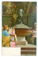 1900, Raffaele Tafuri, Venice, 'Batisterio (S.Marco).' Chromo Pc. Used, Hyeres France. - Other Illustrators