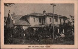! 1912 Ansichtskarte Manila, Columbia Club House, Philippines - Philippines