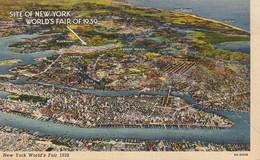 New York World's Fair, Site Of World's Fair As Seen From The Air, 1939 - Expositions