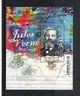 SPM - Nvtés 2018 - VF 2.00 € - Jules Verne  1828 - 2018 - St.Pierre Et Miquelon