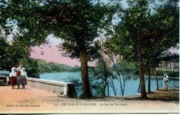 N°63824 -cpa Les Sables D'Olonne -le Lac De Tanchette- - Sables D'Olonne