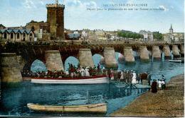 N°63825 -cpa Les Sables D'Olonne -départ Pourt La Promenade- - Sables D'Olonne