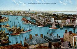 N°63829 -cpa Les Sables D'Olonne -vue Générale Du Port- - Sables D'Olonne