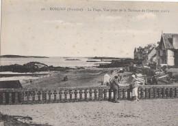 Roscoff La Plage Vue Prise De La Terrasse De L Institut Marin (LOT AE7) (LOT AE7) - Roscoff