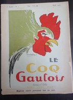 Le Coq Gaulois N°1 - Noël 1924 - Journaux - Quotidiens