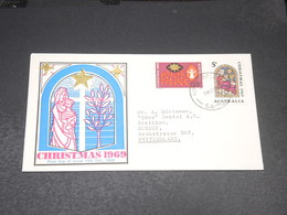 AUSTRALIE - Enveloppe FDC Pour La Suisse En 1969 - Noël - L 20556 - FDC
