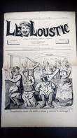 Le Loustic N°2 - 3 Octobre 1885 - Journal Hebdo, Comique Et Satirique - Journaux - Quotidiens