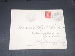 FINLANDE - Enveloppe De Nykarleby Pour Helsinki En 1939 - L 20559 - Finlande