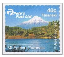 New Zealand 2003 2004 Pete's Post (Privat Postal Service) Egmont Taranaki Volcano MNH ** - Nieuw-Zeeland