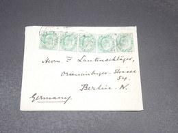 INDE - Enveloppe De Muktesar En 1905 Pour L 'Allemagne - L 20562 - 1902-11 King Edward VII
