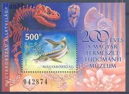 Hungary 2002 Mi Bl 272 MNH ( ZE4 HNGbl272 ) - Minerals
