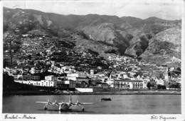"""0040 """" PORTOGALLO MADEIRA FUNCHAL - IDROVOLANTE SUL MARE - CART. ORIG. SPED. - Madeira"""