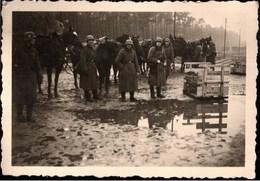 ! Foto 10.1939 Soldatenfoto Verladerampe Zinna, Pferde, Horses, 2. Weltkrieg, Militaria, MILITAIRE - Weltkrieg 1939-45