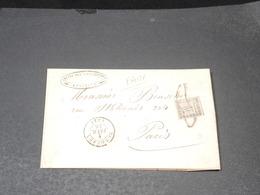 GUADELOUPE - Taxe Sur Lettre ( Grand Fragment) En 1846 - Faux De Toute Pièce - L 20566 - Guadeloupe (1884-1947)
