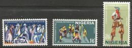 Nigeria - 1967 Republic Anniversary MNH **    SG 202-4 - Nigeria (1961-...)