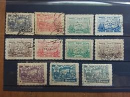 RUSSIA - CAUCASO 1923 - Lotticino Timbrati E Nuovi * + Spese Postali - 1923-1991 URSS