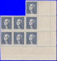 France 1943. ~ YT 581** Bloc De 7 -  Lavoisier - France