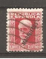 Tánger Español - Edifil 77 - Yvert 196 (usado) (o) - Marruecos Español