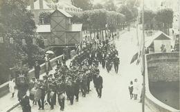 LANGEAIS - CARTE PHOTO - Revue Des Pompiers De Langeais 14 Juillet 1908 - Langeais