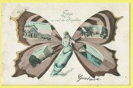 * Liège - Luik (La Wallonie) * (A 5256 Théodore Schuller) à Vol De Papillon, Butterfly, Vlinder, Fantaisie, TOP - Lüttich