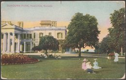 Dundurn Park, Hamilton, Ontario, C.1905-10 - Postcard - Hamilton