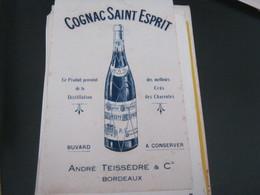 BUVARD PUBBLICITARIA COGNAC - Liquor & Beer