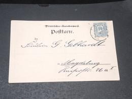 ALLEMAGNE - Affranchissement Poste Privée Sur Carte Postale De Magdeburg - L 20592 - Private