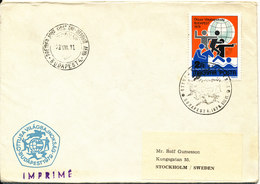 Hungary FDC 11-8-1979 Pentathlon World Championship Budapest With Cachet And Sent To Sweden - FDC