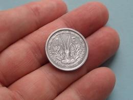 1948 Afrique Equatoriale Francaise - 1 Franc ( KM 6 ) Uncleaned ! - Colonies